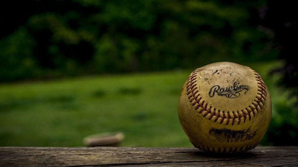 ball, baseball, close-up