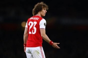 Arsenal CB David Luiz